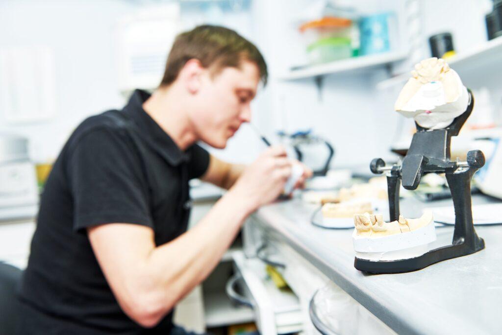 Designing dentures in Kitchener