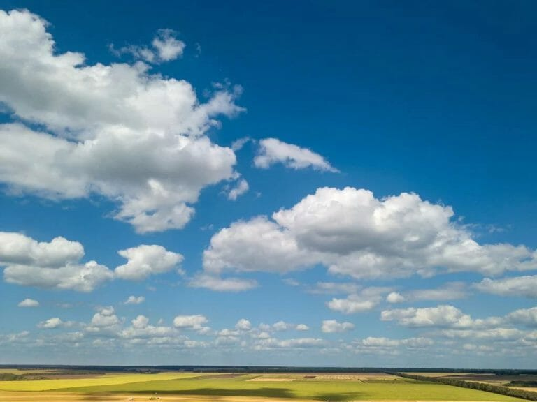 Beautiful White Clouds